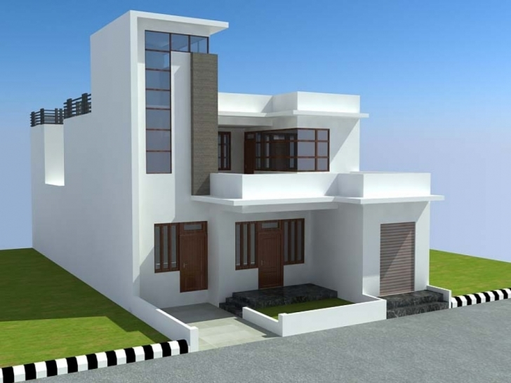 Latest Amazing 3D House Design — Stylid Homes : Make 3D House Design Model 3d House Design Image