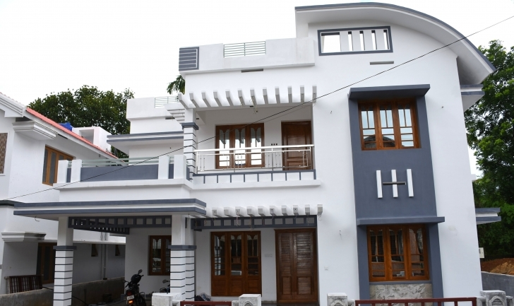 Latest Athani, 5 Cents Plot And 2250 Sq Ft, Modern House - Youtube Kerala House Plans In 5 Cents Pic