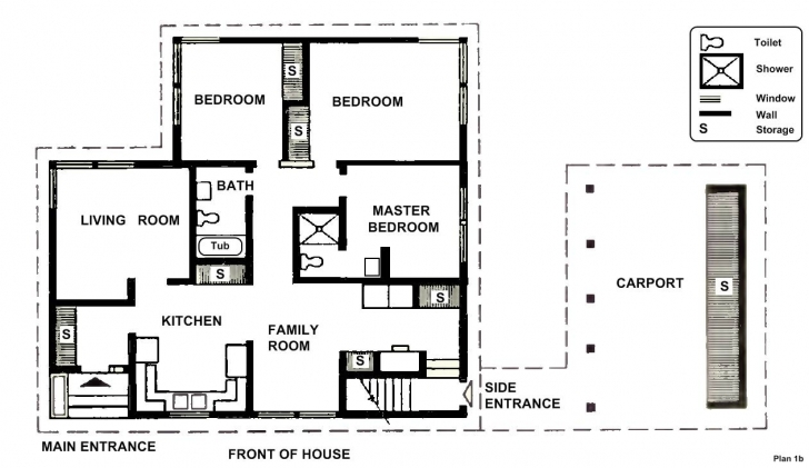 Latest Bedroom Designs: Small Two Bedroom House Plans Free Design Well Designed Home Plans Image