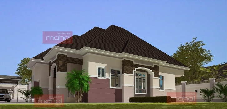 Latest Contemporary Nigerian Residential Architecture: 3 Bedroom Bungalow 3 Bedroom Bungalow House In Nigeria Image
