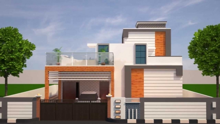 Latest Front Elevation Designs Trends With Fascinating Home Design For Ground Floor Elevation Plan Photo