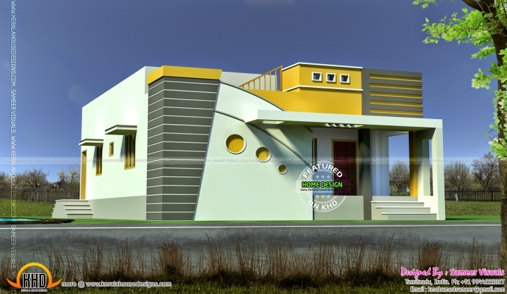 Latest Home Architecture: Interior Design For Small House In Tamilnadu House Plans With Photos In India Tamil Nadu Photo