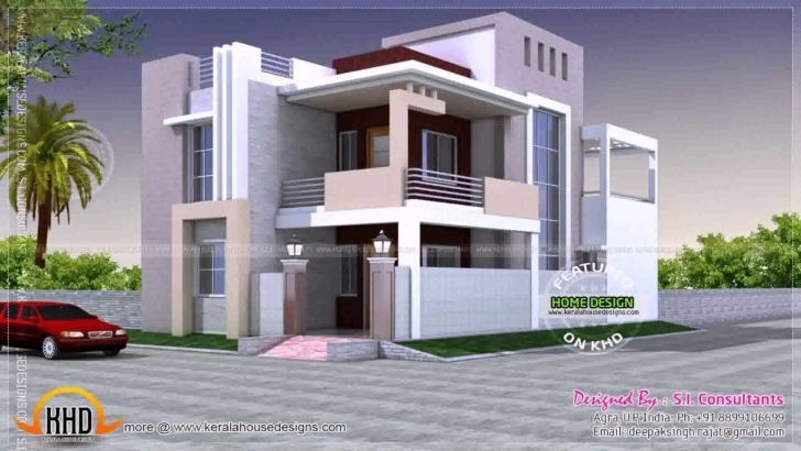 Latest House Design Indian Style Plan And Elevation - Youtube House Designs Indian Style Pic