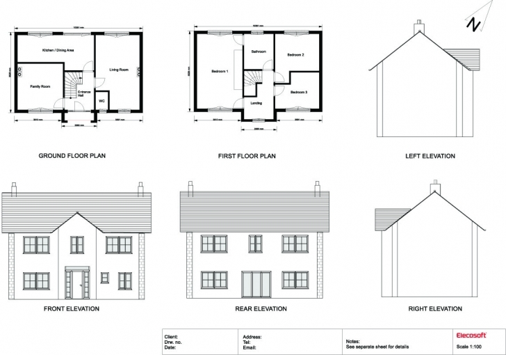 Latest House Plan Elevation Drawings - House Plans Simple Plan Elevation Section Of Residential Building Image