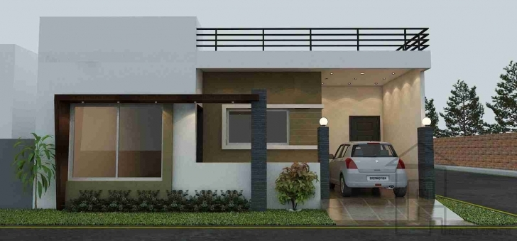 Latest Indian House Front Boundary Wall Designs - Google Search | Elevation 20 Feet Front House Elevation Single Floor Photo