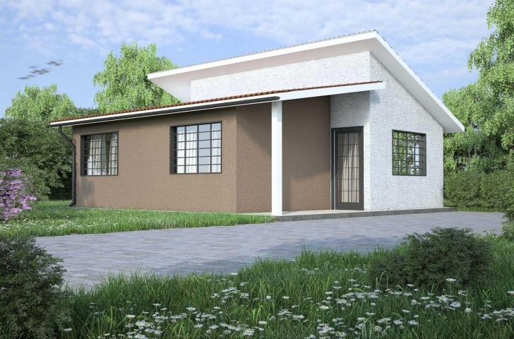 Latest Simple Cheap House Plans And Two Bedroom House Designs In Kenya Room House Plans 2017 In Kenya Pic