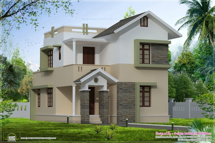 Latest Small Villa Plans Houses Designs - Home Plans & Blueprints | #68594 Small Villa Design Pic