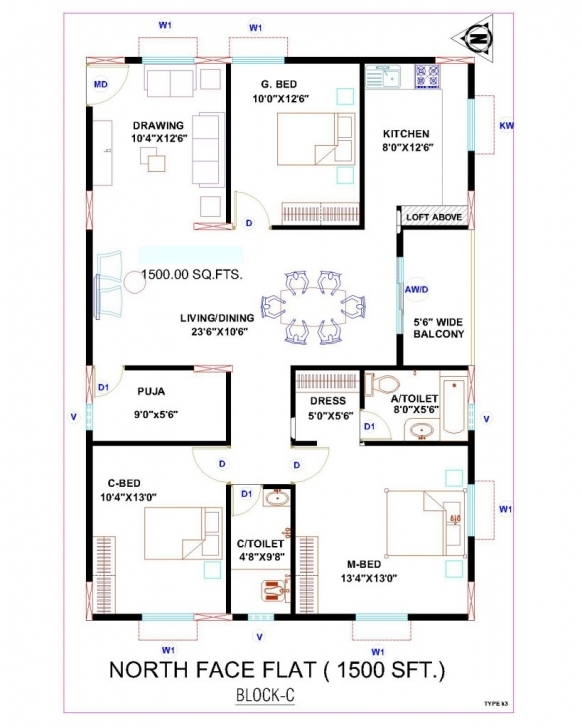 Marvelous Architectures : Home Architecture East Facing House Plan Webbkyrkan Indian House Plans For 1500 Square Feet East Facing Picture