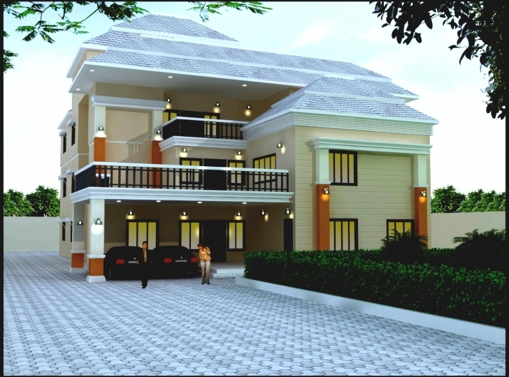 Marvelous Design : Architect House Design India Homes Floor Plans Modern Indian House Plans With Pictures Of Real Houses Photo