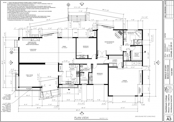 Marvelous Download Drawing House Plans On Autocad | Chercherousse Autocad House Plans With Dimensions Photo