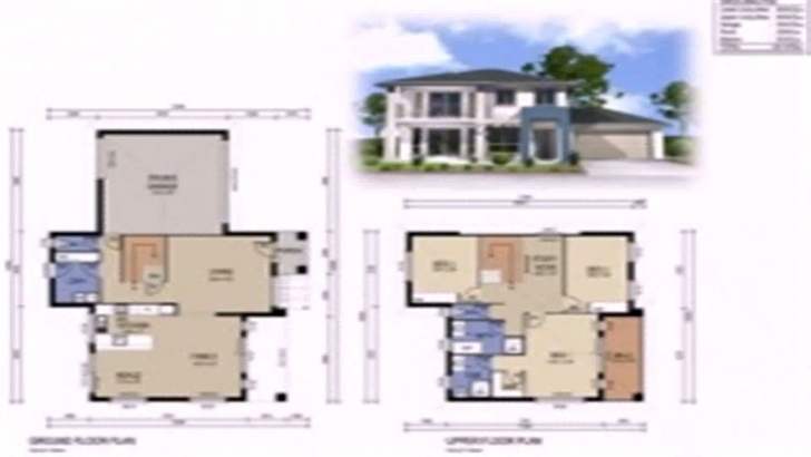 Marvelous Floor Plan 2 Story House Plans Interior Design Small House Design 2 Storey Small Home Design Image