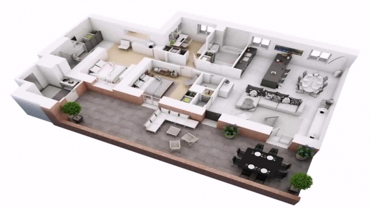Marvelous Free 4 Bedroom Duplex House Plans - Youtube Duplex 4 Bedroom House Plans Pic