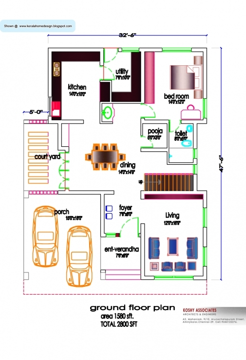 Most Inspiring Free Small House Plans Designs India | The Best Wallpaper Of The South Indian House Plan For 1000 Sq Ft Pic