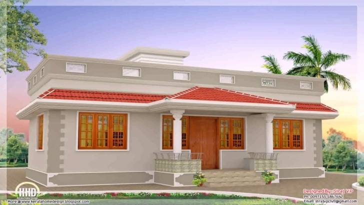 Most Inspiring Home Front Design In Single Floor - Youtube Building Front Design Single Floor Picture