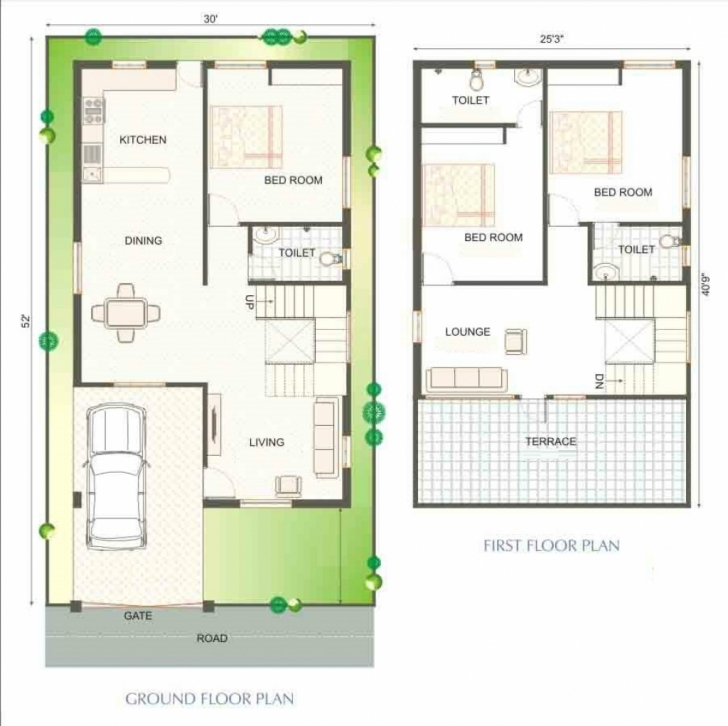 Most Inspiring House Design Indian Style Plan And Elevation Models — Simple House House Plans Indian Picture