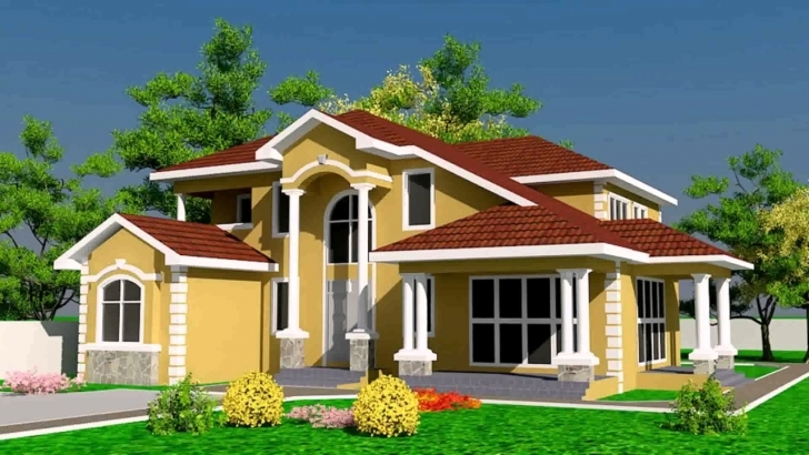 Most Inspiring House Designs And Floor Plans Ghana - Youtube Ghana House Plans Photo