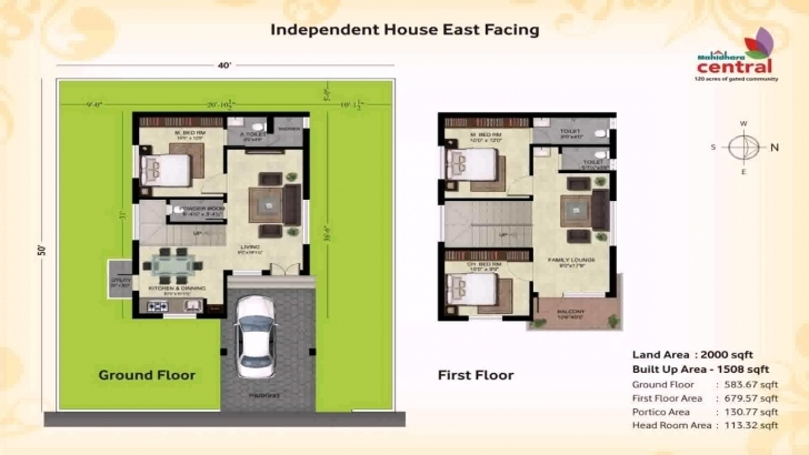 Most Inspiring House Plan For 600 Sqft East Facing - Youtube 2 Bedroom House Plans Indian Style East Facing Pic