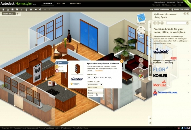 Most Inspiring House Planner Free Mac Room Sketcher Room A Bedroom For 3D Best 3d House Planner Free Pic
