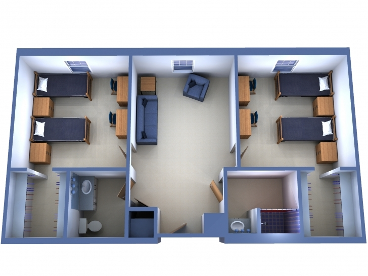 Most Inspiring Indian Style Two Bedroom House Plans | Floor Plans Design Indian Two Bedroom House Plans Pic