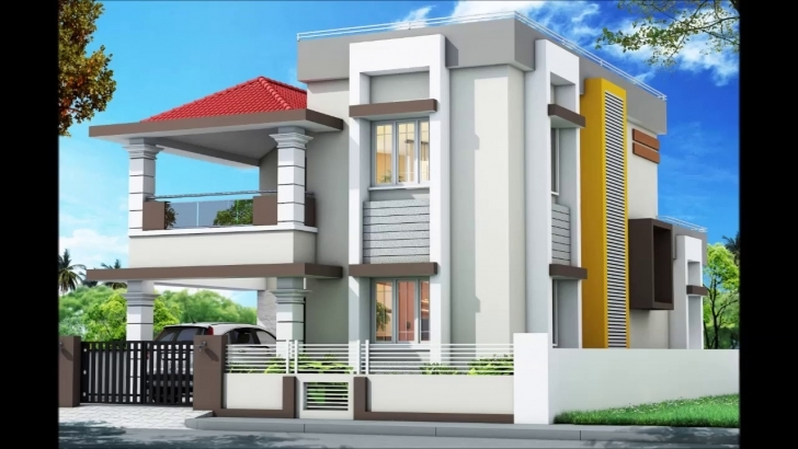 Most Inspiring West Facing House 01 With Plan & 3D Image - Youtube Front Elevation Of Indian House 30x50 Site Single Floor Pic