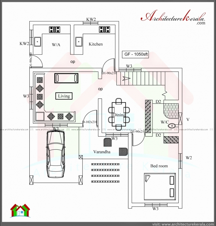 Must See 4 Bedroom 2 Story House Plans Best Of 4 Bedroom Single Floor House 2 Bedroom Single Floor House Plans Kerala Style Photo