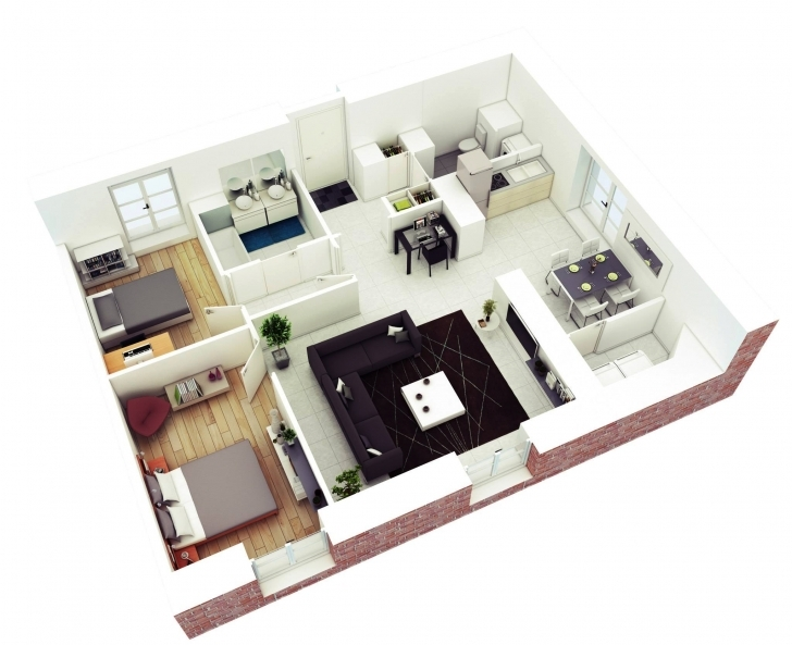 Must See Awesome 1000 Sq Ft House Plans 2 Bedroom Indian Style — House Style House Plans For 1000 Sq Ft Indian Style Photo