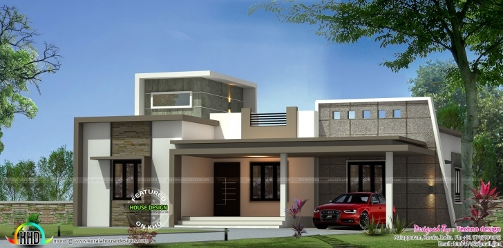 Must See Contemporary One Floor 3 Bedroom Home | Kerala Home Design | Bloglovin' Kerala Latest House Designs 2017 Pic