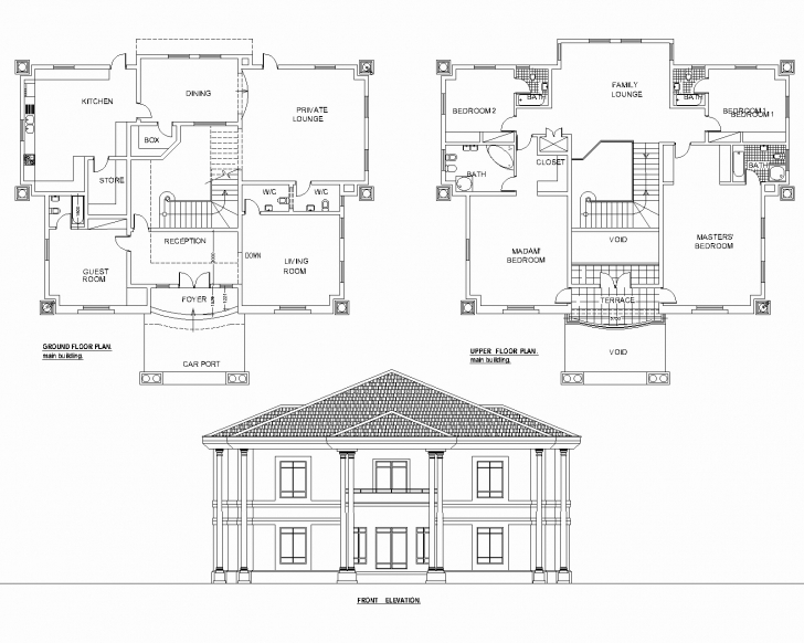Must See Five Bedroom Bungalow Floor Plan Fresh Best 5 Bedroom Duplex House 5 Bedroom Duplex House Plans Nigeria Photo