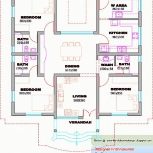 Kerala House Design Plans Free