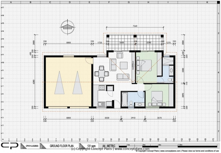 Must See House Plan Samples | Examples Of Our Pdf & Cad House Floor Plans House Plan Sample Autocad Image