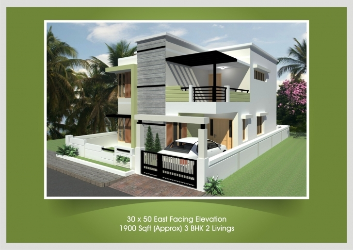Must See Independent House Design Plans In India | The Base Wallpaper Front Elevation Of Indian House 30x50 Site Single Floor Photo