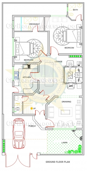 Must See Inspirational 14 Marla House Plan Layout | Tinyhousetravelers 7 Marla House Map Design Picture