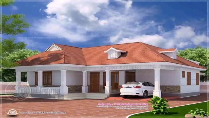 Must See Kerala Style 4 Bedroom House Plans Single Floor - Youtube Kerala Model House Single Floor Image