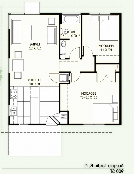 Must See Outstanding 900 Sq Ft House Plans In Tamilnadu Style With Luxury 900 Square Feet House Plans Picture