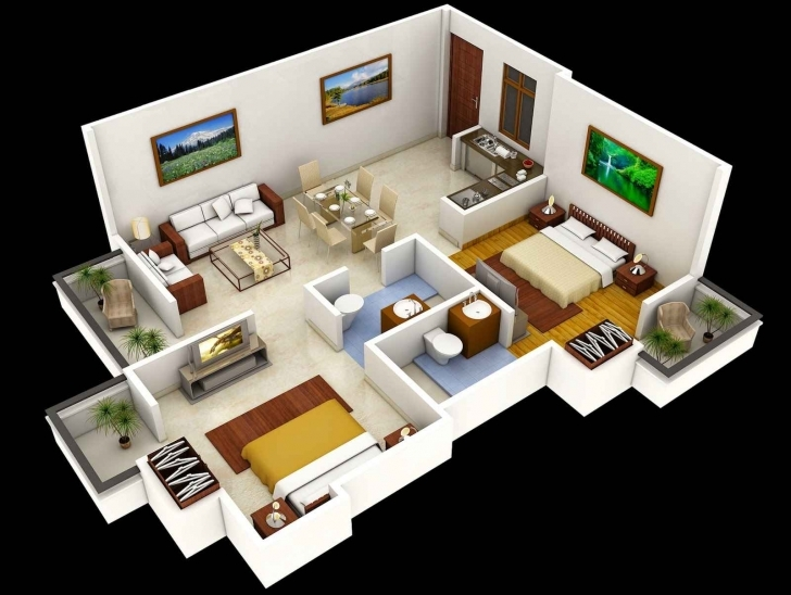 Outstanding 1000 Sq Ft Apartment Plans Along With 1000 Sq Ft House Plans 2 House Plans For 1000 Sq Ft Indian Style Pic