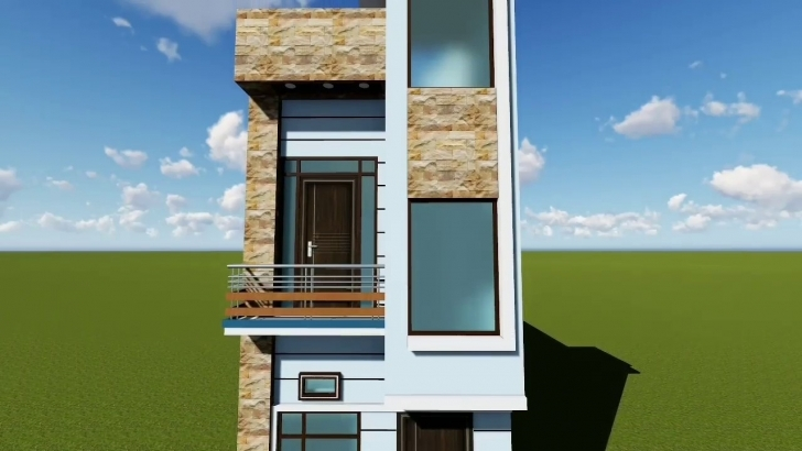 Outstanding 12 Feet Front Elevation - Youtube 15 Feet Front Home Design Image