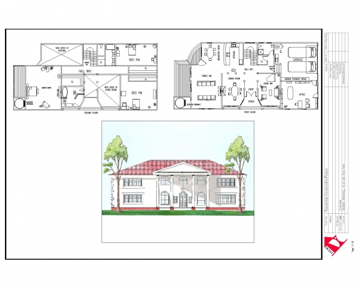 Outstanding House Plan House Plan Plans Elevation Section Escortsea And Simple Plan Elevation Section Of Residential Building Pic