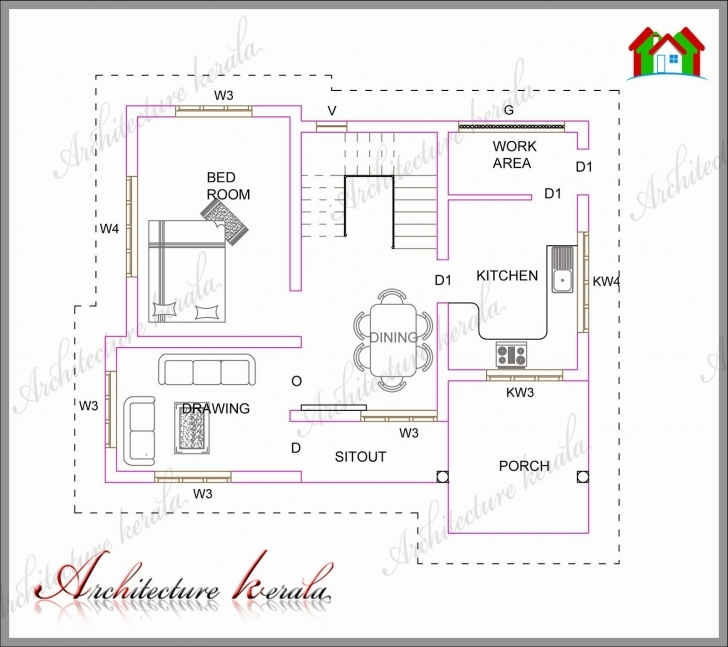 Outstanding House Plans Below 1000 Square Feet In Kerala Fresh House Plans Below 1000 Sq Ft House Plans In Kerala Pic