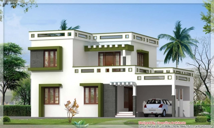 Outstanding Latest Kerala Square House Design At 1700 Sq.ft Kerala House Design Image Pic
