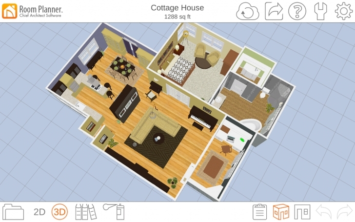 Outstanding Powerful Free 2D And 3D Room Planner Softwares. Accessories. Gombrel 2d Home Planner Photo
