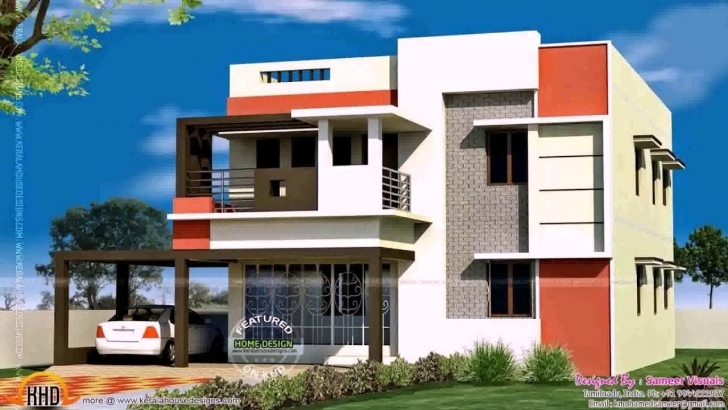Outstanding Single Floor House Front Elevation Design In India - Youtube Elevation Design For House India Photo