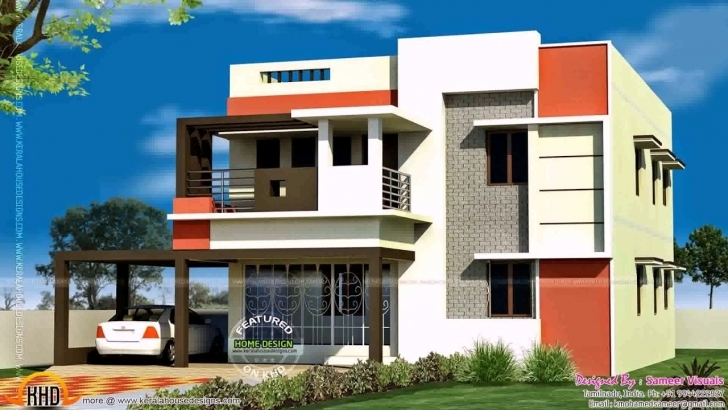Outstanding South Indian House Front Elevation Designs For Ground Floor - Youtube Indian House Single Floor Front Elevation Photos Picture