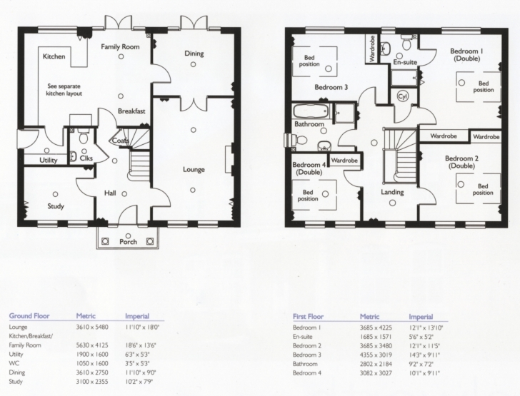 Picture of 4 Bedroom Small House Plans - Homes Floor Plans Four Bedroom Duplex Building Plan Image