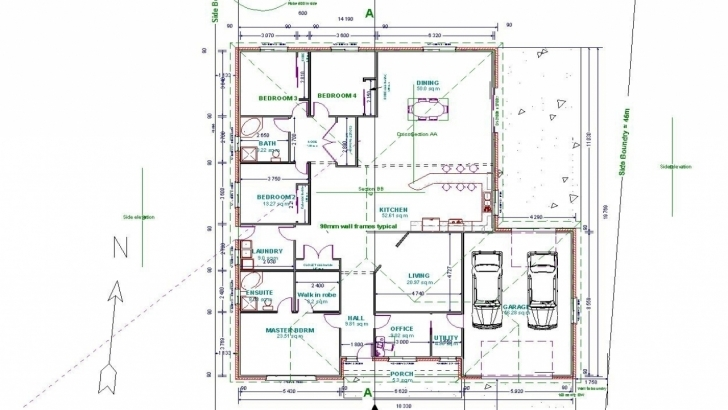 Picture of Autocad 2D House Drawings Floor Plan Autocad Practice - Homes Zone Autocad 2d House Drawings With Dimensions Pic