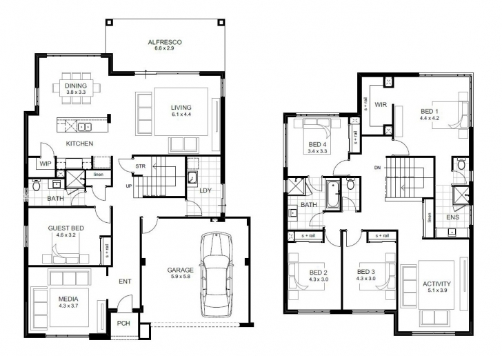 Picture of Double Storey 5 Bedroom House Plans – Home Plans Ideas 5 Bedroom Double Storey House Plans In South Africa Pic