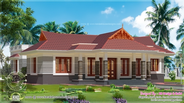 Picture of Home Architecture: Nalettu House In Square Feet House Design Plans Small Nalukettu House Photo