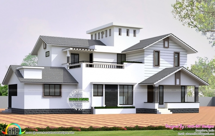 Picture of January 2016 - Kerala Home Design And Floor Plans Kerala House Design Front View Image