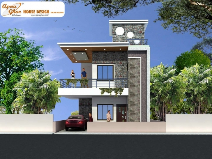 Picture of Modern Duplex House Design In 126M2 (9M X 14M) Like, Share, Comment Duplex House Front Elevation Designs In Chennai Picture