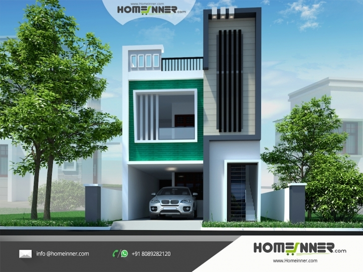 Picture of New Contemporary Indian House Design Ideas Elevation Design For House India Pic