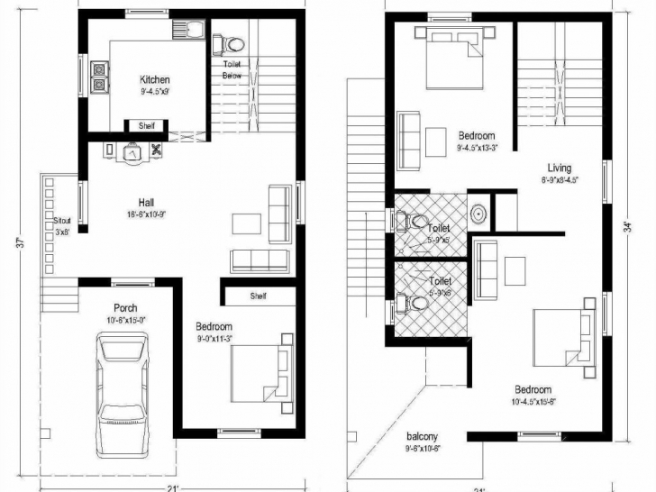 Picture of Nice House Map 15 X 40 8 Home Design 30 50 Magnificent Floor Plans 15 X 40 House Floor Plans Photo